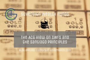 Picture of gold bullion representing the ACG article on Sovereign Wealth Funds and the Santiago Principles